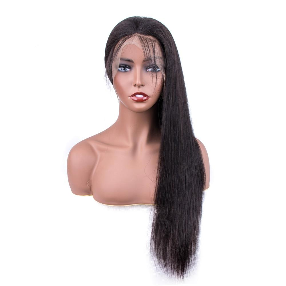 Sapphire Straight 360 Lace Wigs Skin Melt Frontal 360 Deep Lace Front Human Hair Wigs For Women Swiss Full Lace Human Wig 150%