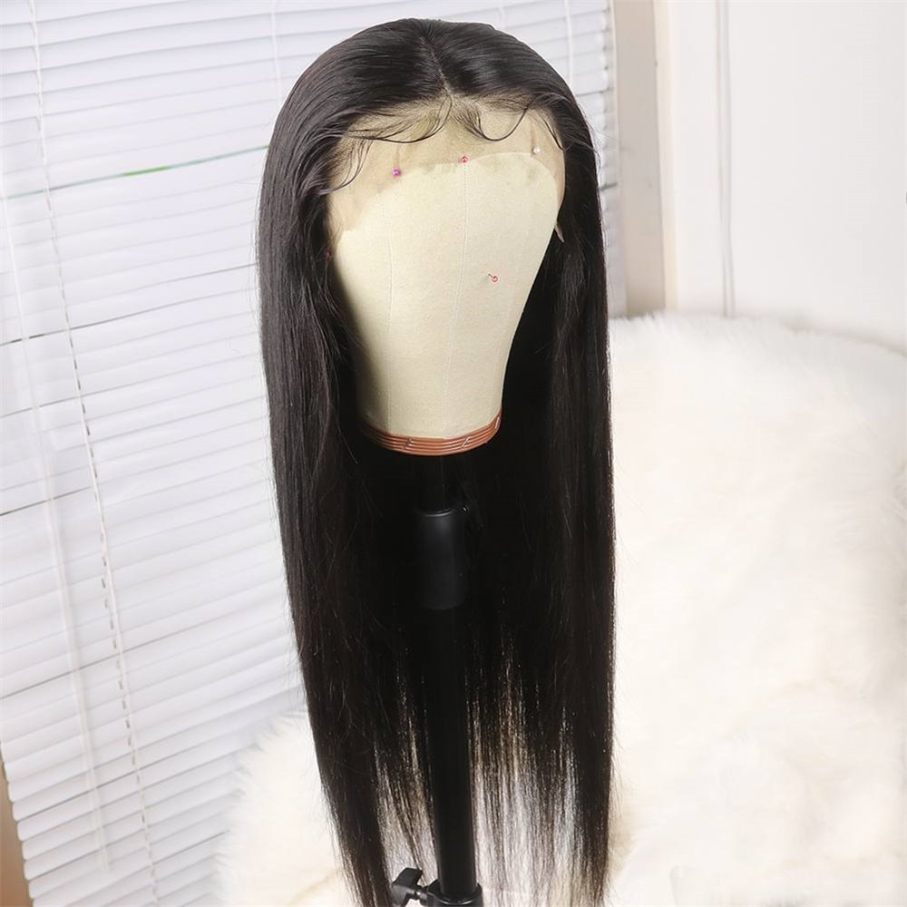 360 Full Lace Wig Human Hair Pre Plucke For Black Women Brazilian Straight Lace Front Human Hair Wigs Hd 360 Lace Frontal Wig Hd