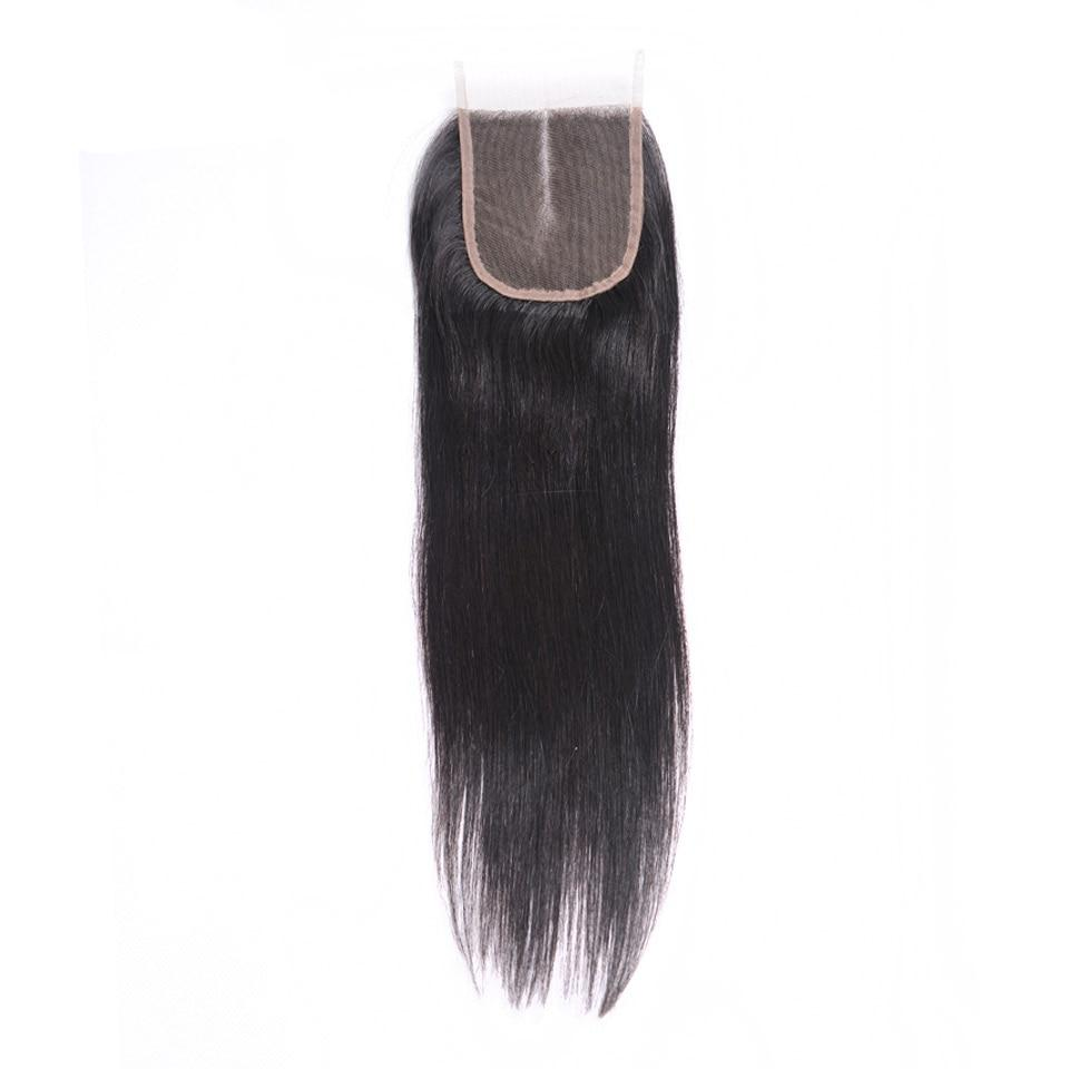 Styleicon Peruvian Hair Bundles With Closure 30inch Remy Straight Hair Weave Bundles Human Hair Extension 3 Bundles With Closure
