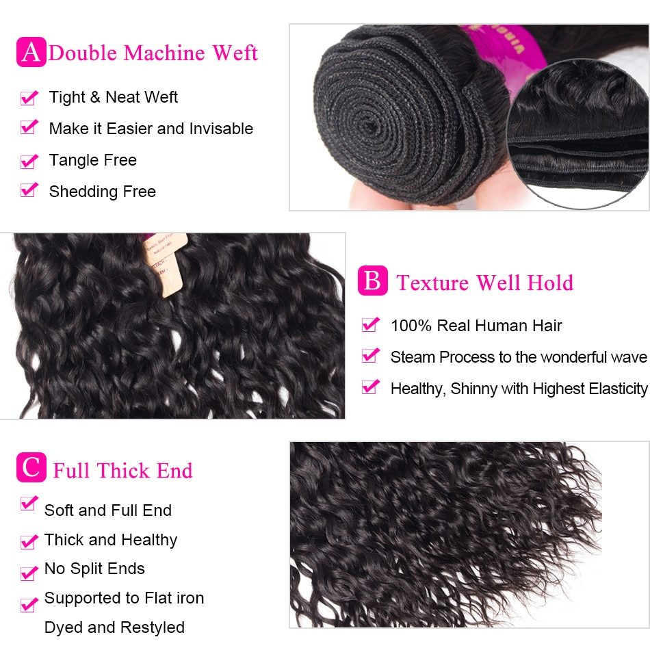 Tinashe Hair Water Wave Bundles With Frontal Peruvian Human Hair 3 Bundles With Closure Hd Transparent Lace Frontal With Bundles