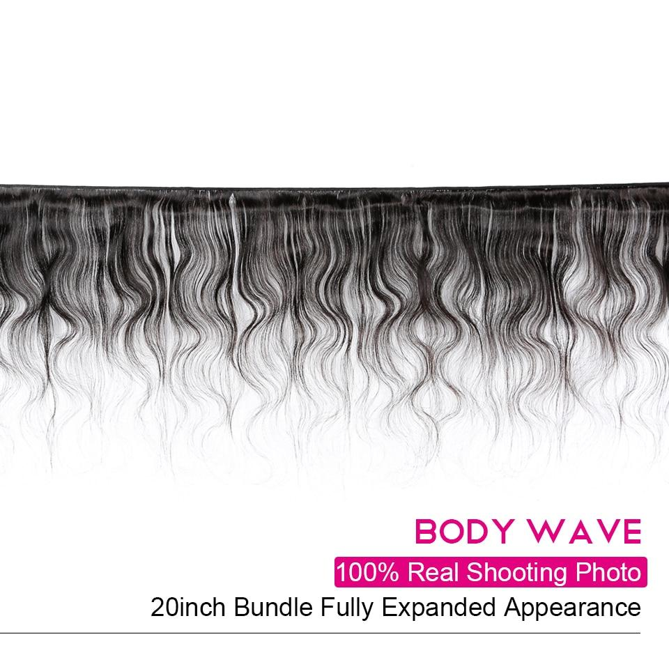 Yyong 4X4 & 6X6 Closure With Bundles 3 Bundles Malaysian Body Wave With 6x6 Lace Closure, Remy Human Hair Bundles With Closure