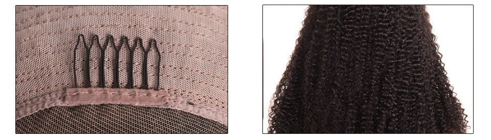 250 Density RXY Curly Human Hair Wig 13x4 Lace Front Wig Afro Kinky Curly Wig Remy Lace Closure Human Hair Wigs Pre Plucked