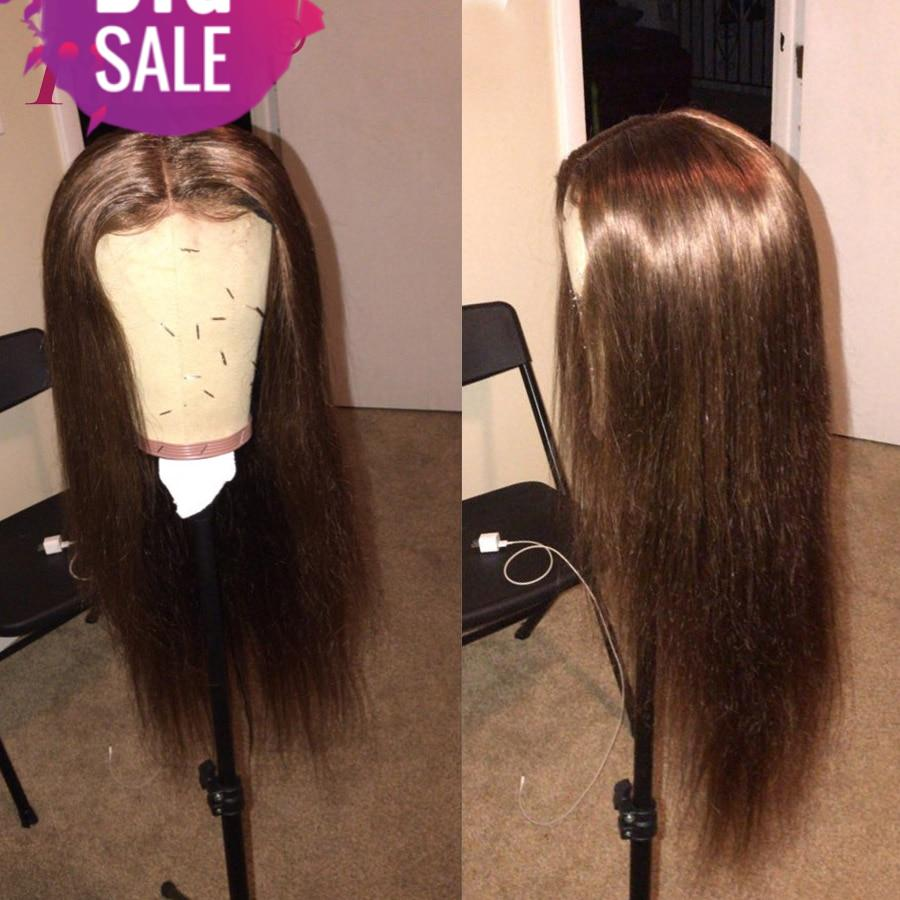 250 Density Lace Front Wigs With Color 13x4 Brazilian Lace Front Human Hair Wigs For Black Women Highlighted RUIYU Remy Hair